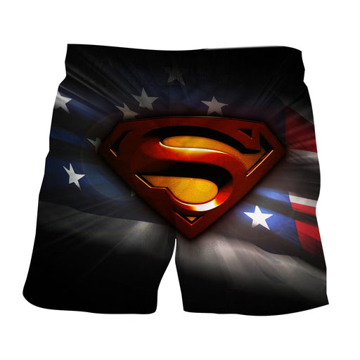 DC Comics Superman Signature Cool Design Boardshorts