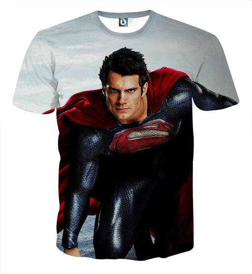 DC Comics The Good-Looking Superman Design Print T-Shirt