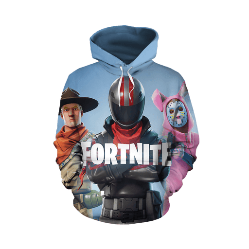 Epic Game Fortnite Battle Royal Inspired Full Print Hoodie