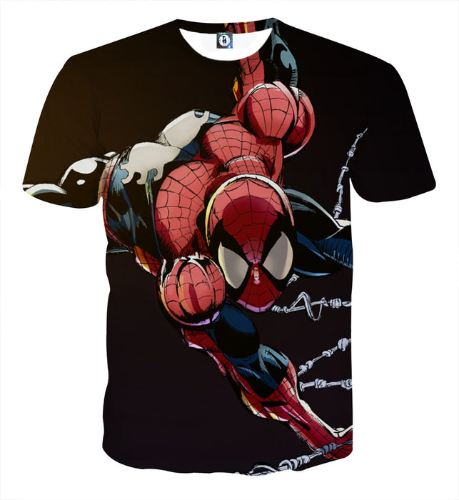 b62f8055a Extra Strong Spider-Man Ability Design Full Print T-Shirt ...