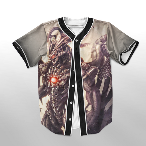 Final Fantasy Awesome Bahamut Summons Baseball Jersey