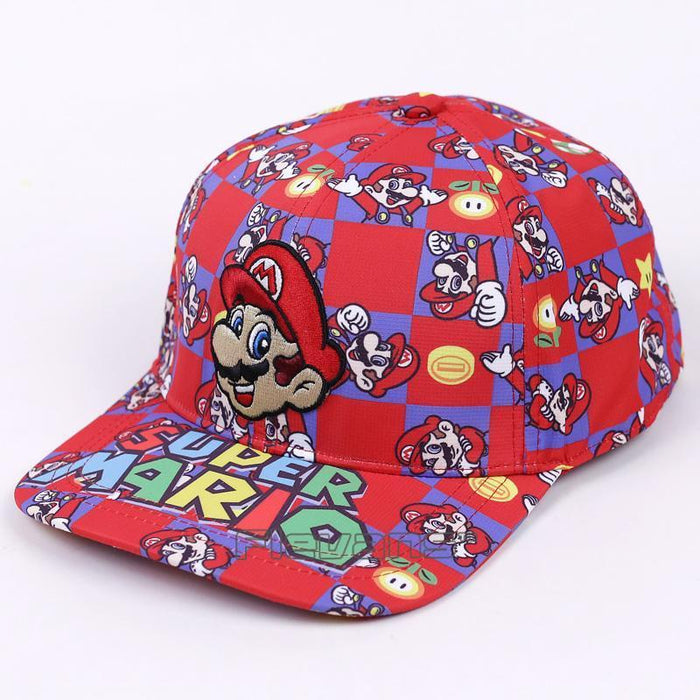 Finding Coins Super Mario Colorful Streetwear Baseball Hat Cap - Superheroes Gears