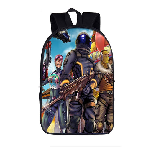 Fortnite Battle Royal Cartooned Dark Voyager Brite Bomber Bag