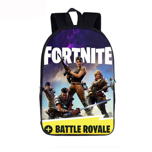 Fortnite Battle Royal Commando Futuristic Weapons Backpack