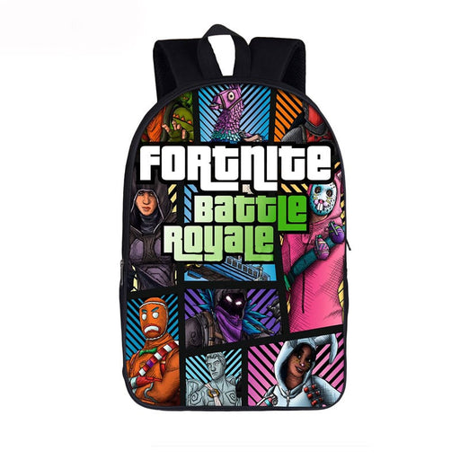 Fortnite Battle Royal Epic Legendary Skins GTA Theme Backpack
