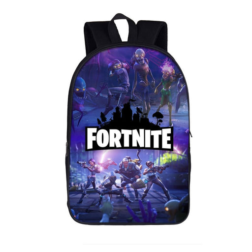 Fortnite Battle Royal Fortnitemares Halloween Purple Backpack