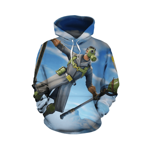 Fortnite Floss Battle Royal Epic Games 3D Full Print Hoodie
