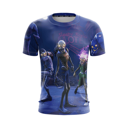 Fortnite Game Save The World Inspired Cool Purple T-Shirt