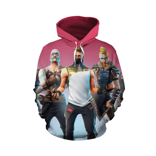 Fortnite Gaming Season 5 Banner Worlds Collide Inspired Hoodie