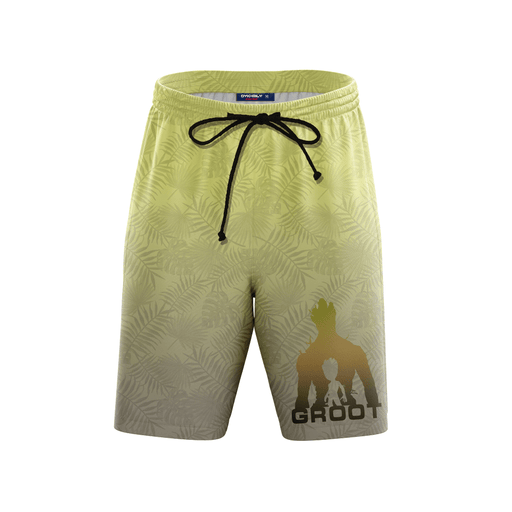Groot Guardian of the Galaxy Boardshorts Swim Trunks