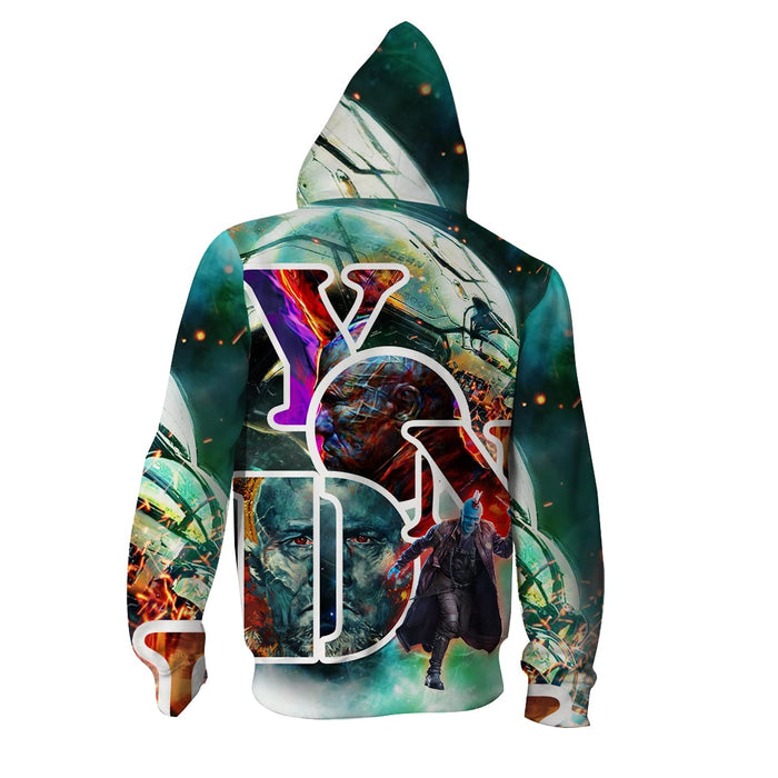 Guardians Of The Galaxy Cool Captain Yondu Udonta Hoodie