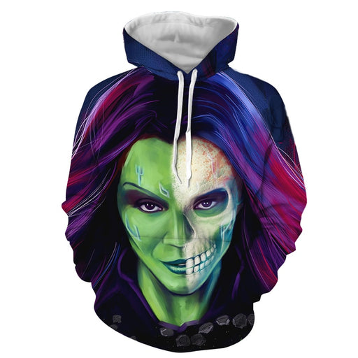 Guardians Of The Galaxy Gamora Zen Whoberi Ben Titan Hoodie