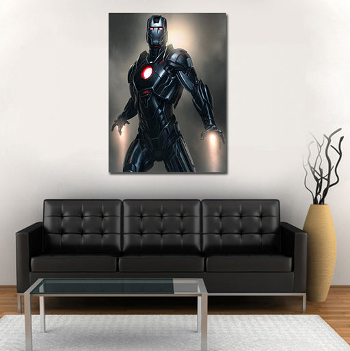 Iron Man Armor Mark XVI Nightclub 1pc Wall Art Canvas Print