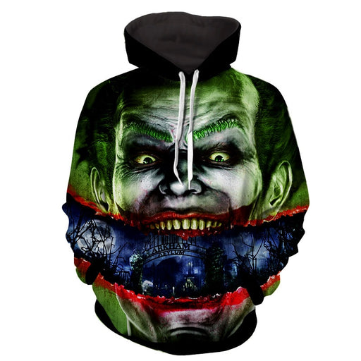 Joker Sent To Arkham Asylum Design Full Print Hoodie