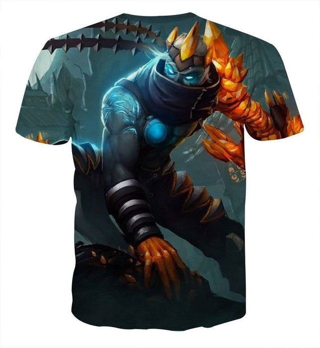 League of Legends Impressive Blight Crystal Varus Bow Comfy T-Shirt