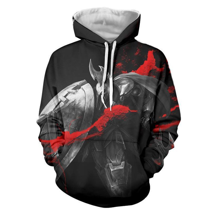 League of Legends Impressive Pantheon Weapon Cool Printing Hoodie