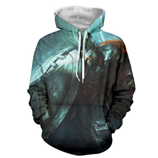 League of Legends Pantheon Striking Strategy Champion 3D Print Hoodie