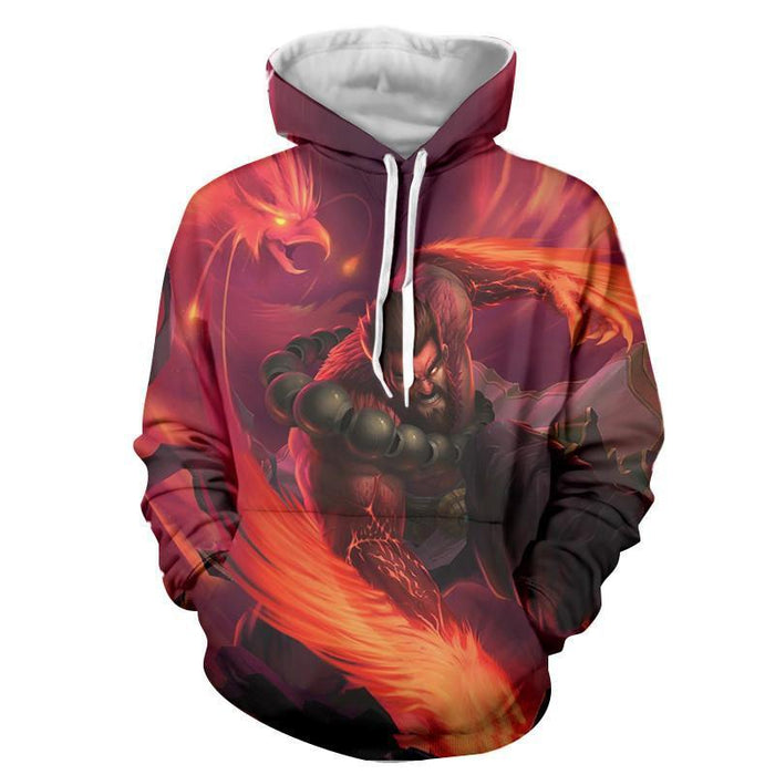 League of Legends Vigorous Udyr Bear Stance Edition Cool Hoodie