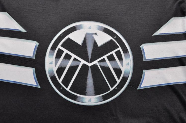 Marvel Agents of S.H.I.E.L.D Avenger Long Sleeves Workout T-shirt