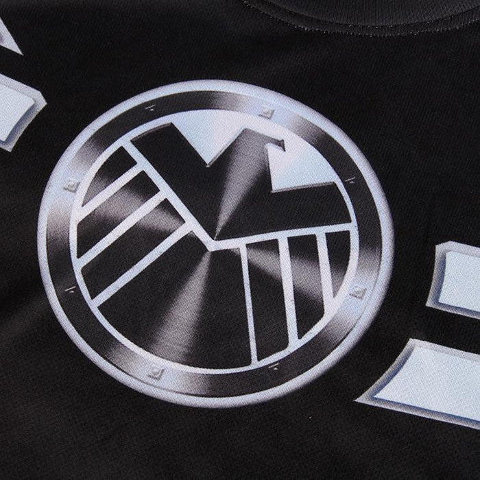 Marvel Agent of S.H.I.E.L.D Awesome Stylish Design Workout T-shirt