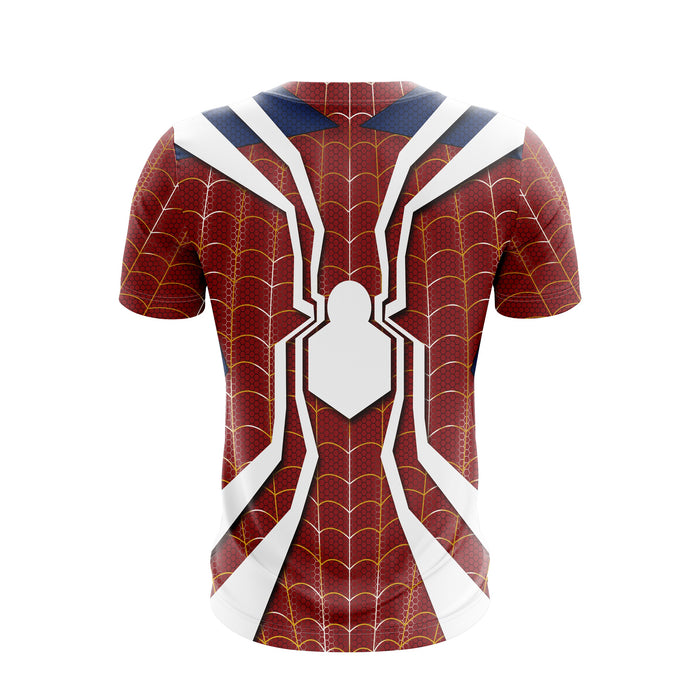 Marvel Amazing Spider-Man White Spider Logo Red Suit T-Shirt