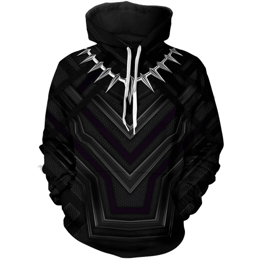 Marvel Black Panther The Panther Habit Suit Costume Hoodie