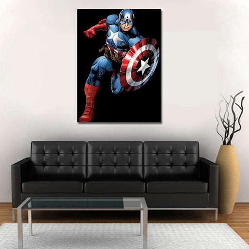 Marvel Comics Captain America The First Avenger 1pc Canvas