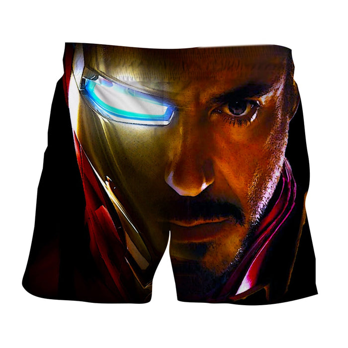 Marvel Comics The One Eye Iron Man Design 3D Printed Shorts