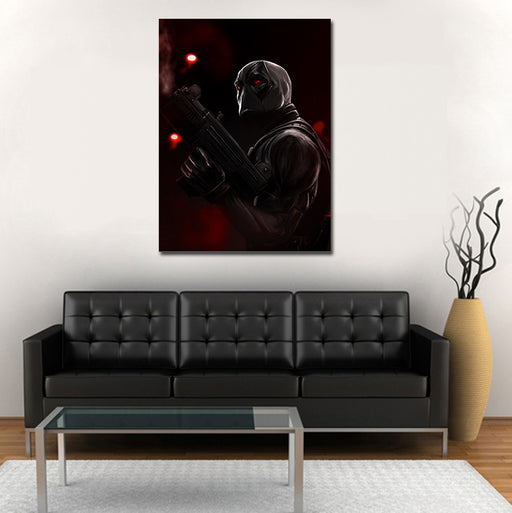 Marvel Deadpool X-Force Uniform 1pc Wall Art Canvas Print