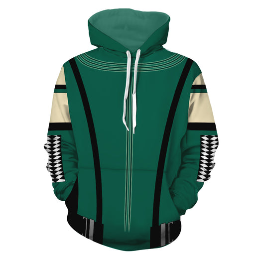 Marvel Guardians Of The Galaxy Mantis Green Cosplay Hoodie