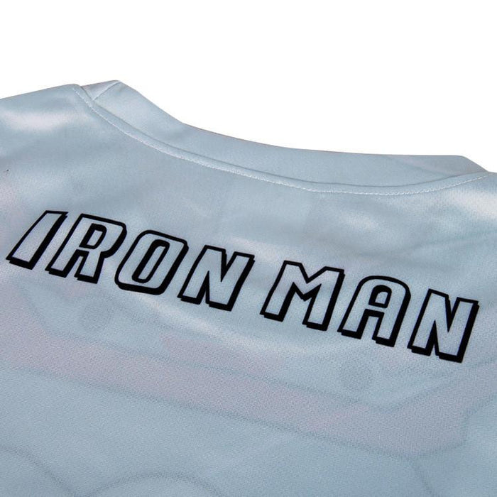 Marvel Iron Man Suit up Mark V Cool Armor Fitness 3D Printed T-shirt