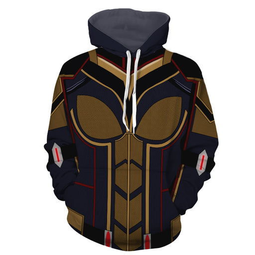 Marvel Magnificent The Wasp Hope Van Dyne Cosplay Hoodie
