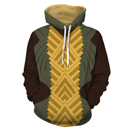 Marvel Nakia Wakanda Spy War Dogs Battle Suit Cosplay Hoodie