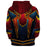 Marvel Spider-Man Iron Spider Armor Suit Red Cosplay Hoodie