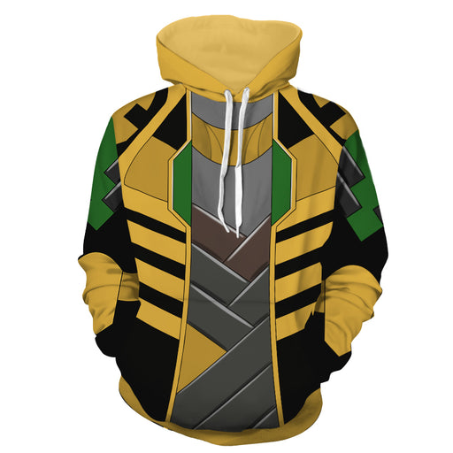 Marvel Prince Of Asgard God Of Mischief Loki Cosplay Hoodie