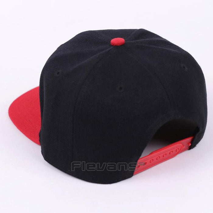 Marvel Super Hero Thor Cool Black and Red Streetwear Snapback