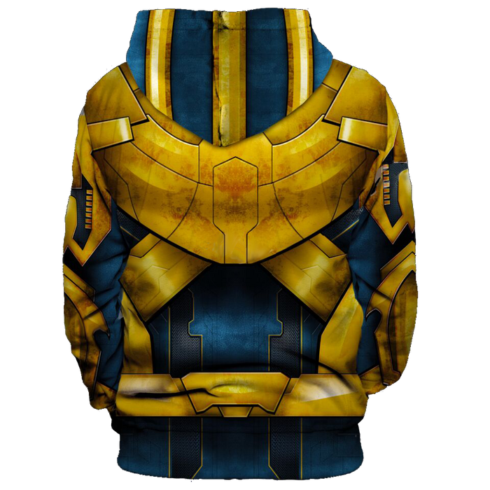 Marvel Thanos Supervillain Uniform Costume Cool 3D HD Hoodie
