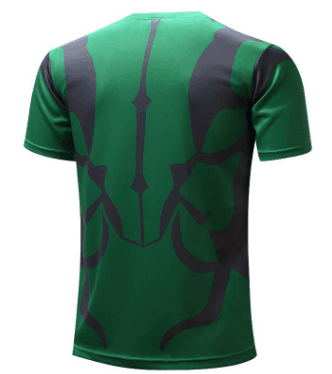 Marvel The Incredible Hulk Superhero Modern Design Workout T-shirt