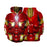 Marvel Tony Stark Iron Man Armor Mark L Red Costume Hoodie