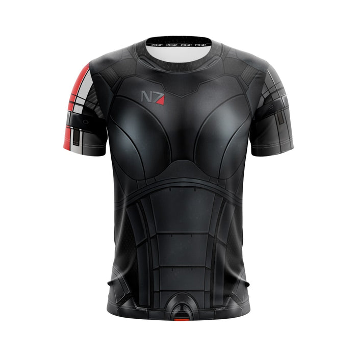 Mass Effect 2 Female Shepherd N7 Armour Cool Gaming T-Shirt