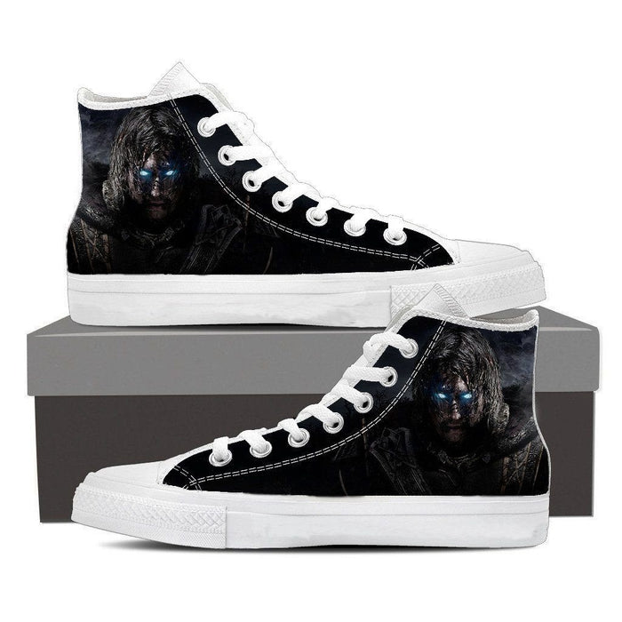 Middle Earth Shadow of Mordor Poster Sneakers Converse Shoes