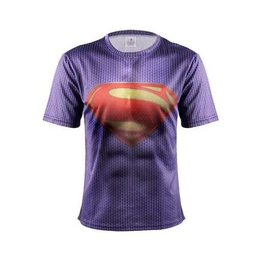 Original Man of Steel DC Comic Superhero Cool Compression T-shirt