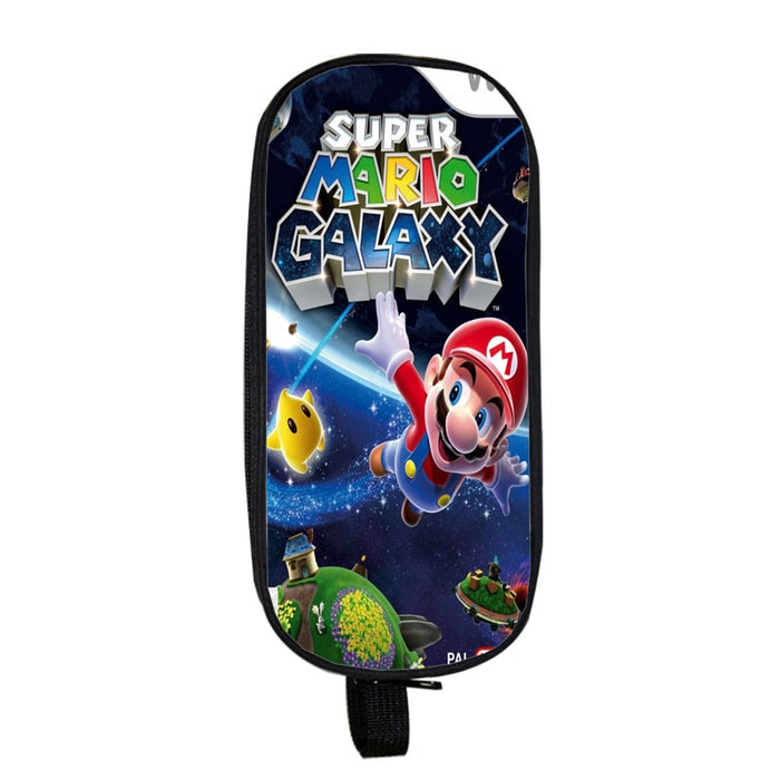 Super Mario Galaxy Mario Flying In Space Pencil Case