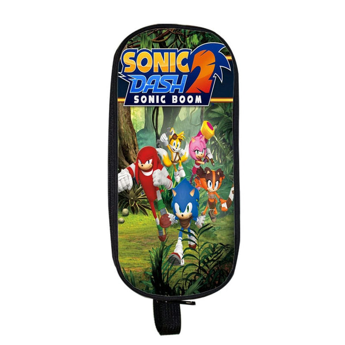 Sonic The Hedgehog Dash 2 Boom Epic 3D Race Pencil Case