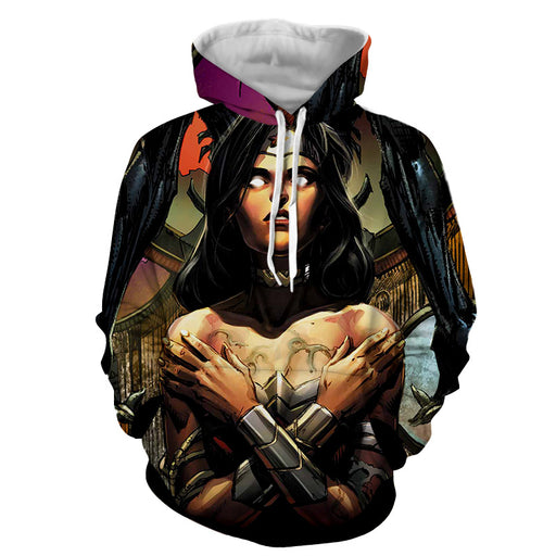 Salvage By Enemy Wonder Woman DC Comics Superhero Hoodie