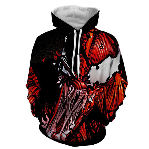 Spider-Man Enemy Monster Design Full Print Dope Hoodie