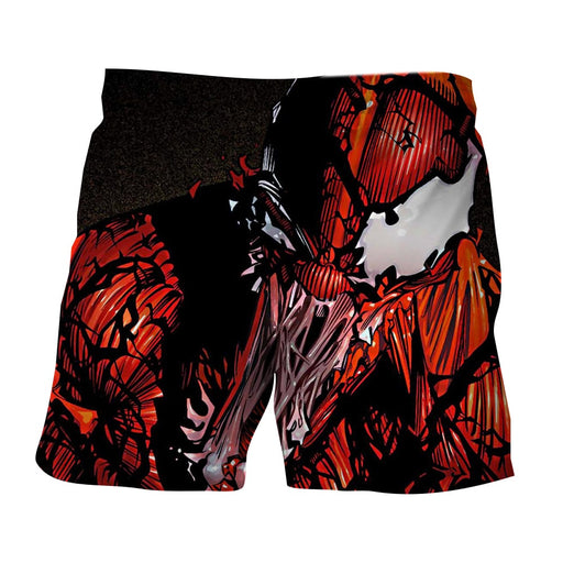 Spider-Man Enemy Monster Dope Design Print Boardshorts