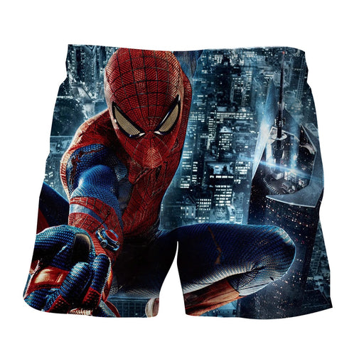 Spider-Man Super Strength 3D Unique Design Print Boardshorts