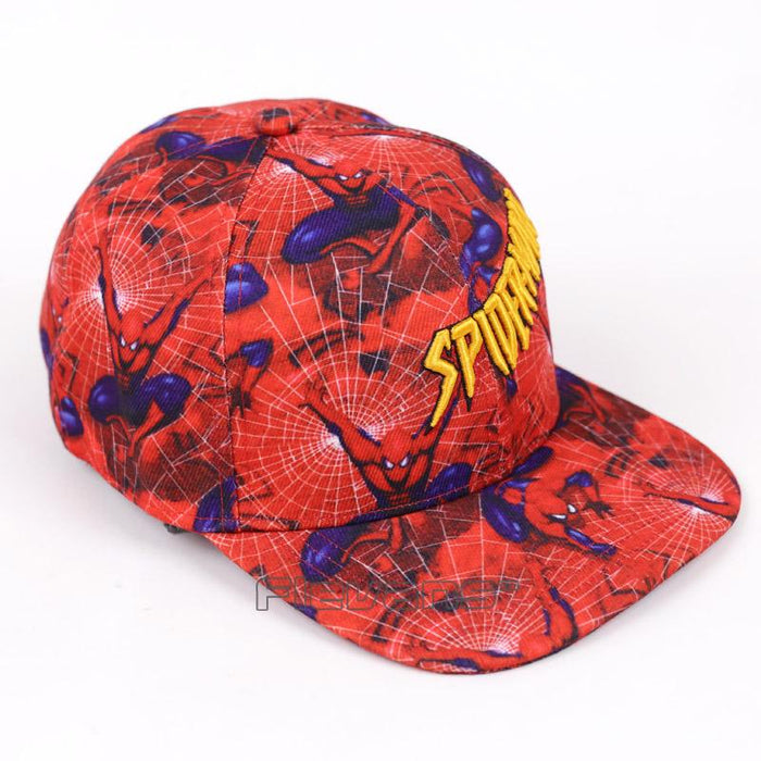 Spiderman All in Red Streetwear Snapback Baseball Cap - Superheroes Gears