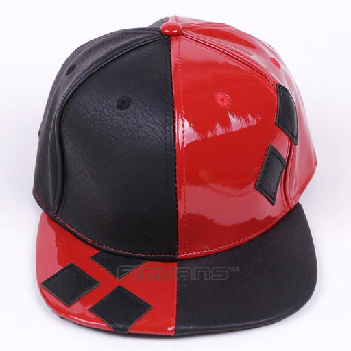 Suicide Squad Harley Quinn Red And Black Cool Hip Hop Snapback